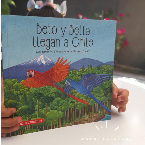 Beto y Bella llegana a Chile. un libro sobre Migracion