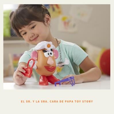 el Sr. y la Sra. Cara de Papa Toy Story