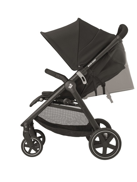 maxicosi stroller travelsystem gia black nomadblack recliningpos