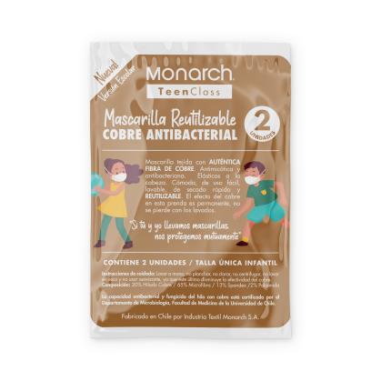 MONARCH MASCARILLA INFANTIL 2